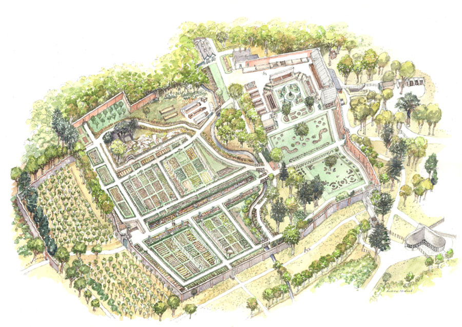 Andrew newland illustration design landscape for Garden design galway