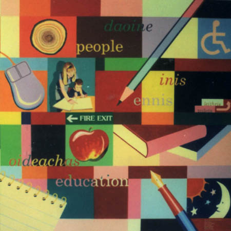 Andrew newland illustration design signs murals for Education mural